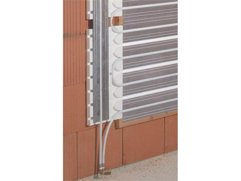Riscaldamento a parete cartongesso terminali antivento per stufe a pellet - Riscaldamento pannelli radianti a parete ...